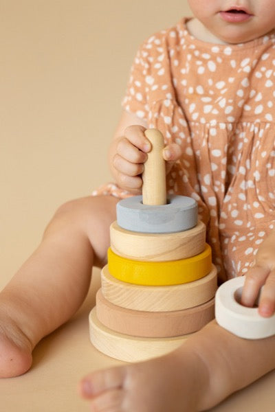 Wooden Round Stacking Toy