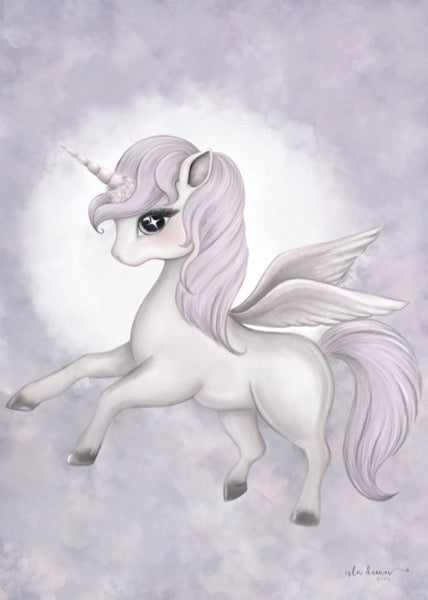 Isla Dream Prints Scarlett The Pegasus Print