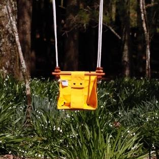 Kowhai Yellow Baby & Toddler Swing