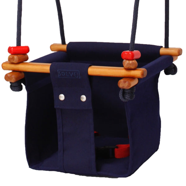 Solvej Swings Baby & Toddler Swing - Midnight Blue
