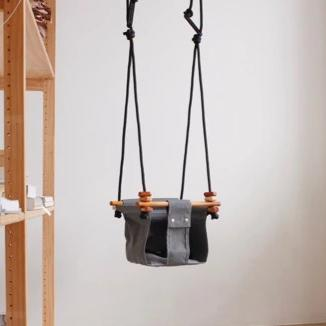 Smoke Grey Baby & Toddler Swing