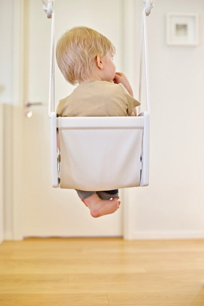 Lillagunga Toddler Swing - White Birch - Oliver Thomas Children's Boutique