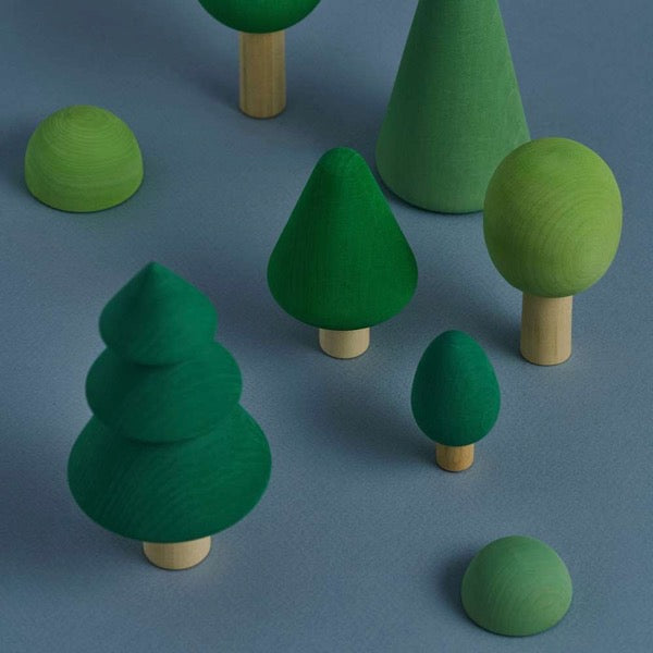 Raduga Grëz Wooden Forest Toy Set - Oliver Thomas Children's Boutique
