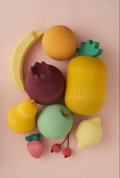 Raduga Grëz Wooden Fruit Set - Oliver Thomas Children's Boutique