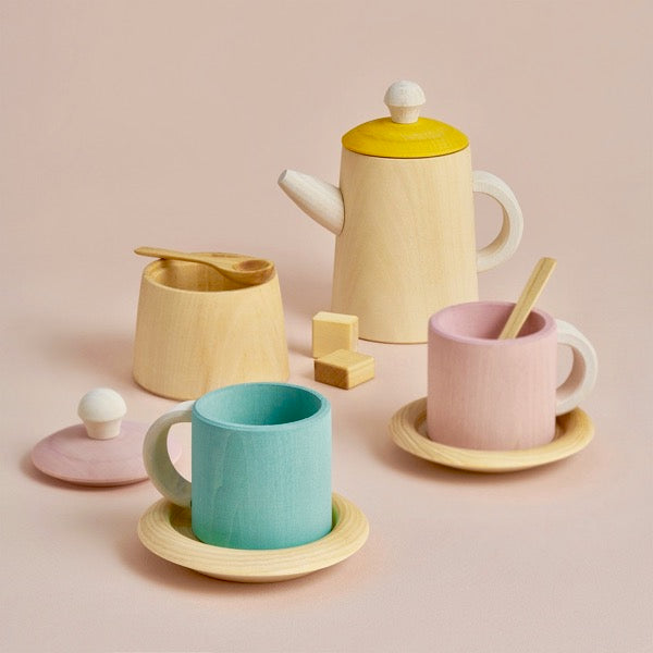 Pastel Toy Tea Set