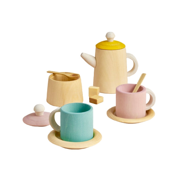 Raduga Grëz Wooden Pastel Tea Set