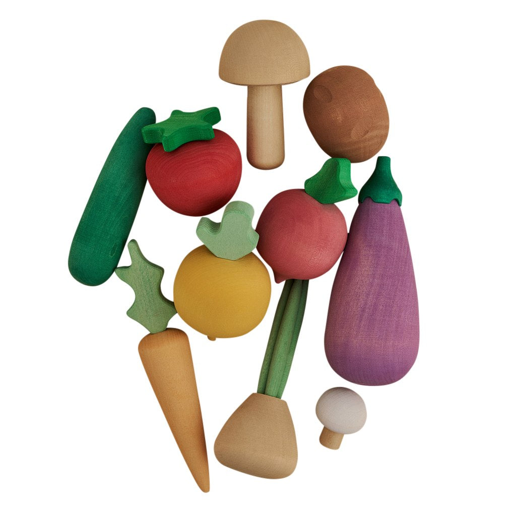 Raduga Grëz Wooden Vegetables Set