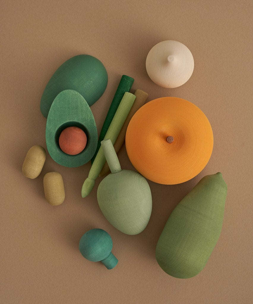 Raduga Grêz Wooden Vegetables Set - Vol. 2