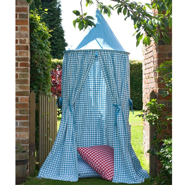 Hanging Tent | Sky Blue Gingham