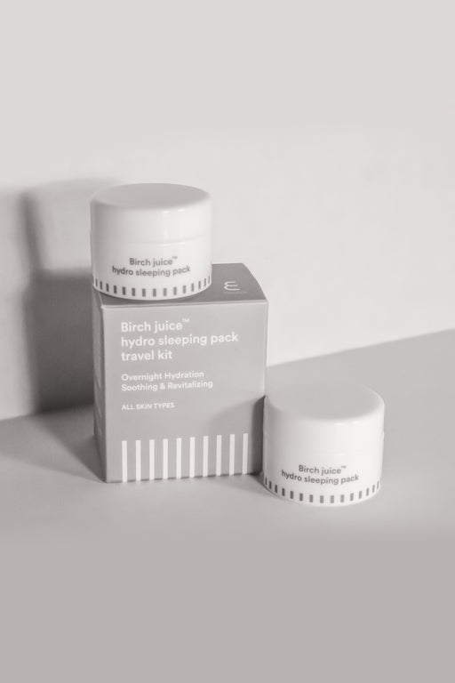 Birch Juice Hydro Sleeping Pack Travel Kit