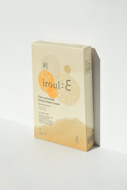 IROUL:E Yam Enriched Hemp-Sheet Mask (Pack of 5)