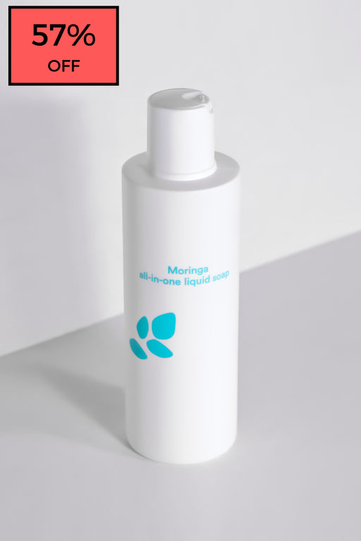 Moringa All-In-One Liquid Soap