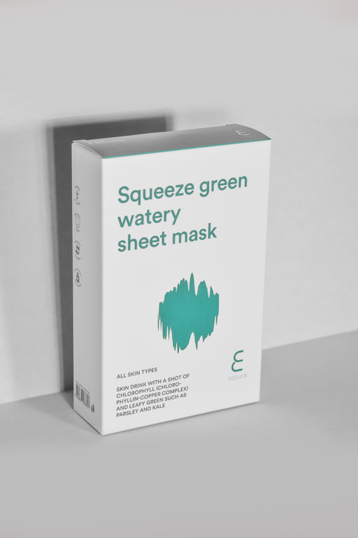 Squeeze Green Watery Sheet Mask (Pack of 10)