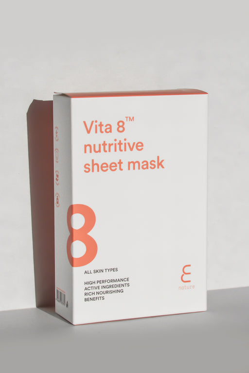 Vita 8 Nutritive Sheet Mask (Pack of 10)