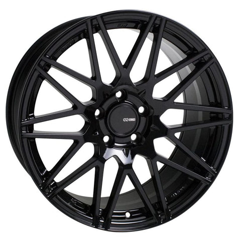 Enkei TMS 17x8 5x114.3 45mm Offset 72.6mm Bore Gloss Black Wheel