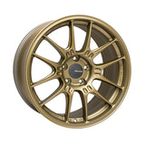 Enkei GTC02 18x9.5 5x114.3 40mm Offset 75mm Bore Titanium Gold Wheel
