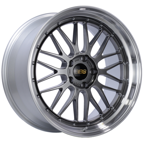 BBS LM 20x10 5x120 ET33 Diamond Black Center Diamond Cut Lip Wheel -82mm PFS/Clip Required