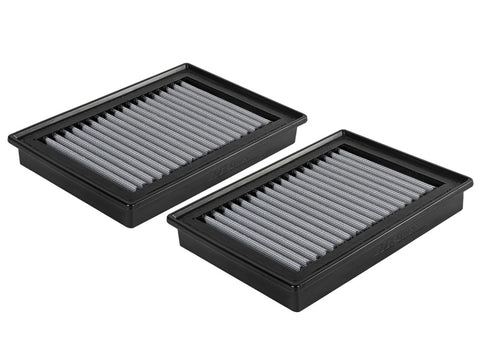 aFe Magnum FLOW Pro DRY S OE Replacement Filter (Pair) 2017 Infiniti Q60 V6 3.0 (tt)