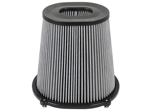 aFe Quantum Pro DRY S Air Filter Inverted Top - 5in Flange x 9in Height - Dry PDS