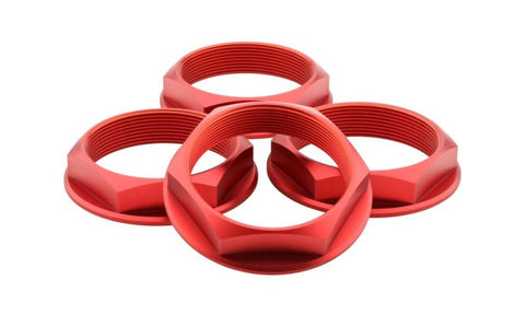 fifteen52 Super Touring (Chicane/Podium) Hex Nut Set of Four - Anodized Red
