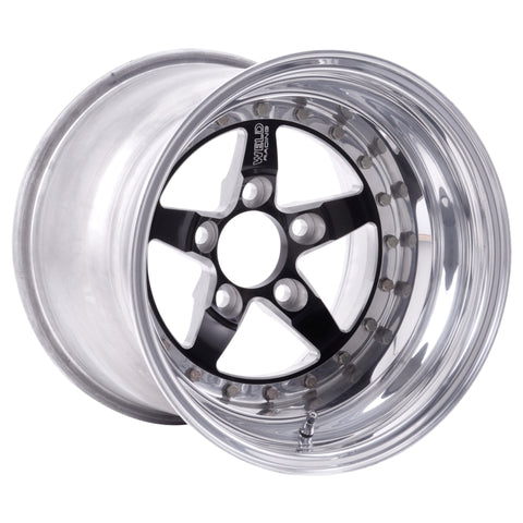 Weld Weldstar 15x10 / 5x4.5 BP / 6.5in. BS Black Wheel - Non-Beadlock