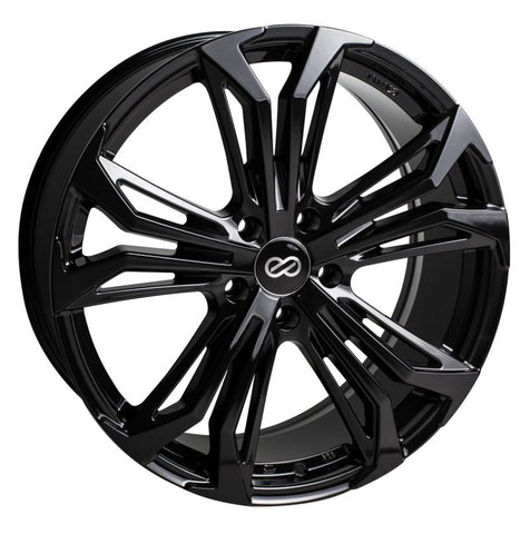 Enkei Vortex 5 Wheel 18x8 40mm Offset 5x110 72.6mm Bore - Black
