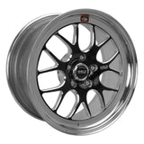 Weld S77 18x8 / 5x4.75 BP / 4.6in. BS Black Wheel (High Pad) - Non-Beadlock