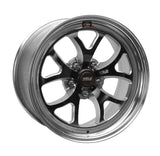 Weld S76 17x7 / 5x4.5 BP / 4.2in. BS Black Wheel (High Pad) - Non-Beadlock