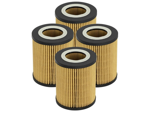 aFe Pro GUARD D2 Oil Filter 96-06 BMW Gas Cars L6 (4 Pack)