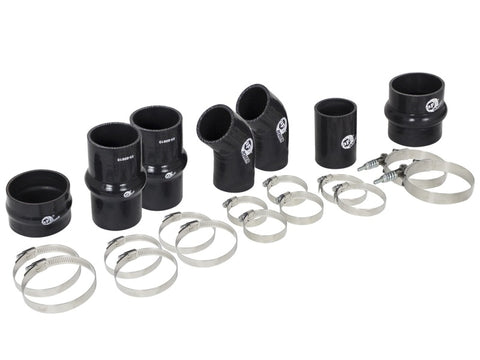 aFe Bladerunner Intercooler Couplings & Clamps Replacement Kit 11-14 Ford EcoBoost 3.5L (tt)
