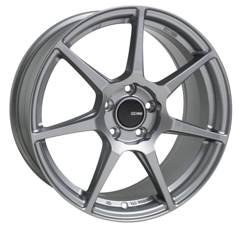 Enkei TFR 18x9.5 5x114.3 38mm Offset 72.6 Bore Diameter Storm Gray Wheel