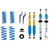 Bilstein B16 (PSS10) 15-17 Mercedes-Benz C300 4Matic L4 Front and Rear Performance Suspension System