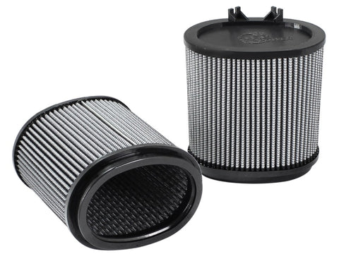 aFe MagnumFLOW OE Replacement Pro DRY S Air Filters 09-12 Porsche 911 (977.2) H6 3.6L/3.8L