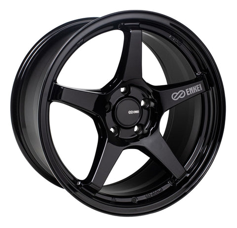 Enkei TS-5 18x8 5x114.3 40mm Offset 72.6mm Bore Gloss Black