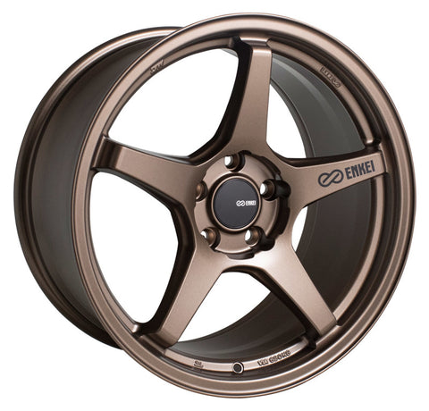 Enkei TS-5 18x8 5x114.3 40mm Offset 72.6mm Bore Bronze