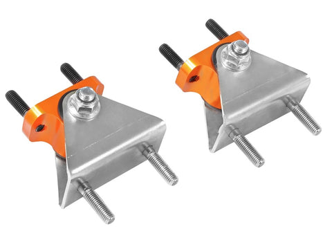 aFe Control PFADT Series Transmission Mount Set; Chevrolet Corvette (C6) 05-13 Orange