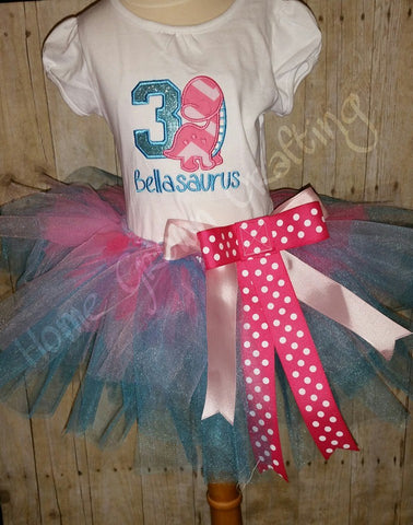 Girls Birthday Shirt and Tutu