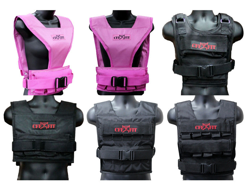 Experience a whole new way of training with a weighted vest