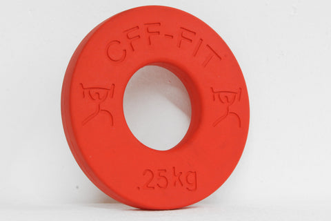 fractional weight plates - .25 kg