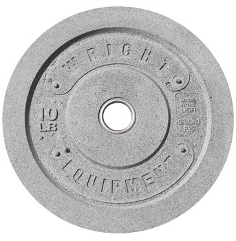 Wright equipment 10 lb crumb rubber bumper plate