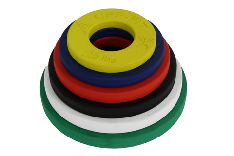 CFF CALIBRATED FRACTIONAL WEIGHT PLATES (LB) - MICRO LOADING
