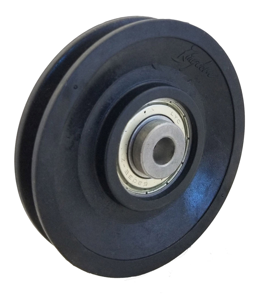 Gym Cable Pulley - 95mm Premium Bearing Nylon Pulley
