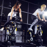 LEMOND REVMASTER PRO INDOOR CYCLE BY LIFE FITNESS AND HOIST - BELT DRIVE BIKE
