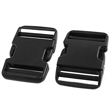 "2"" HEAVY DUTY PLASTIC QUICK RELEASE BUCKLE CLIP"