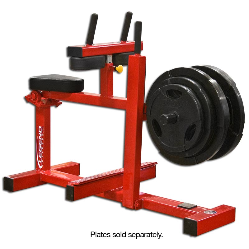 LEGEND FITNESS SEATED CALF (PLATE LOADED) - 3119 – CFF ...