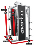 LEGEND FITNESS SMITH MACHINE - 3124