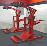 LEGEND FITNESS SQUAT MACHINE W/ CALF BLASTER - 3129