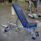 Three-Way Utility Bench with Spotter Platform