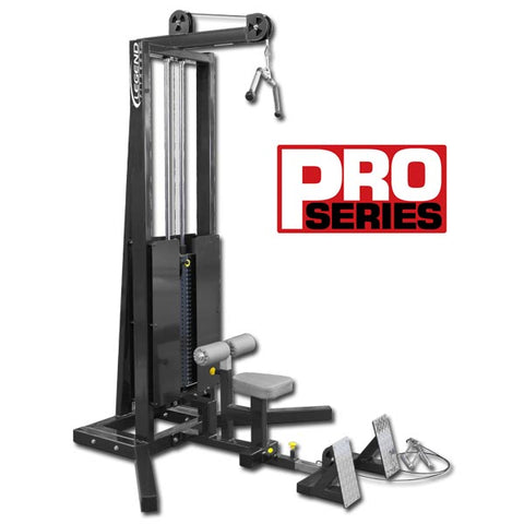 LEGEND FITNESS PRO SERIES SEATED LAT / FLOOR ROW - 3228