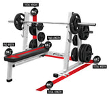 LEGEND FITNESS PRO SERIES OLYMPIC FLAT BENCH - 3240